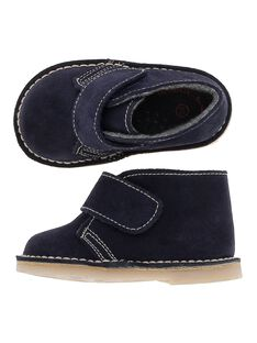 Boots en cuir bébé garçon DBGBOOTDES / 18WK38T1D0D070