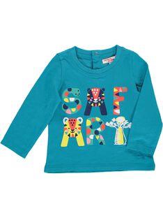 Tee-shirt manches longues bébé garçon CUFRITEE / 18SG10H1TMLC217