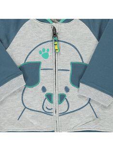 Veste teddy bébé garçon CUHOVES / 18SG10E1VESJ908