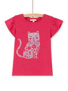 Tee Shirt Manches Courtes Rose LAJOTI1 / 21S90133D31F507