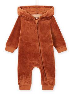 Combinaison à capuche renard bébé garçon MUSAUCOM / 21WG10P1CBLI803