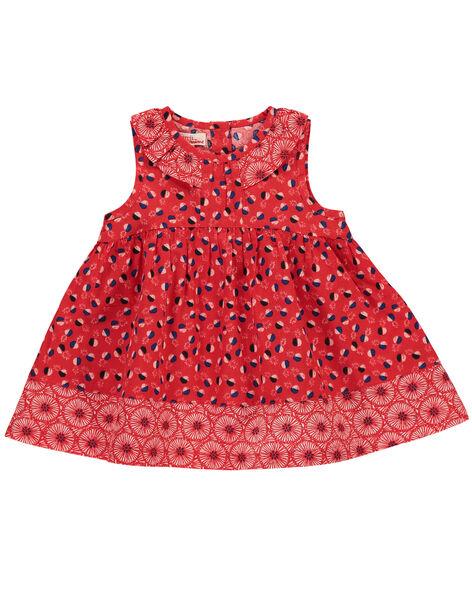Robe chasuble bébé fille FITOROB1 / 19SG09L1ROB330
