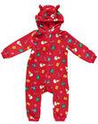 Surpyjama à capuche de Noël en soft boa layette, enfant et adulte  GEMISURNO / 19WH12T1D4SF505