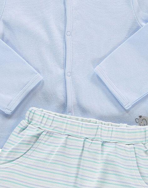 Ensemble pantalon et gilet bébé garçon CCGENS2 / 18SF04C1ENS020