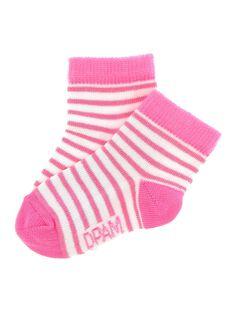 Chaussettes mi-hautes bébé fille CYIJOCHO11A / 18SI09S9SOQ099