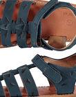Sandale ville en cuir garçon FGSANDINO1 / 19SK36C1D0E070