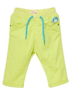 Pantalon canvas bébé garçon JUCLOPAN / 20SG1011PANB105