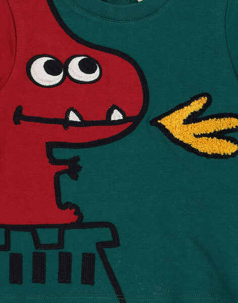 Tee-shirt manches courtes imprimé garçon GUVETEEEX / 19WG1021TMC608