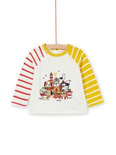 Tee Shirt Manches Longues Ecru LUNOTEE3 / 21SG10L1TML001