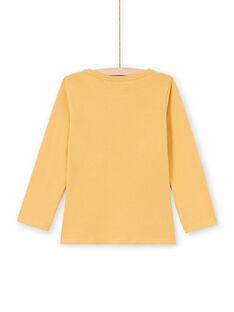 T-shirt orange enfant fille MAJOYTEE5 / 21W90125TMLB106