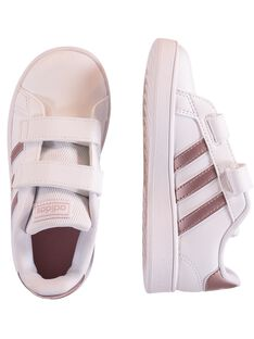 Basket blanche enfant fille ADIDAS Advantage Clean GFEF0107 / 19WK35P1D35000