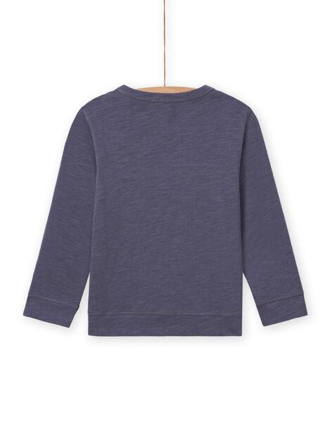 T-shirt gris motif chevalier enfant garçon MOPLATEE4 / 21W902O3TMLJ902