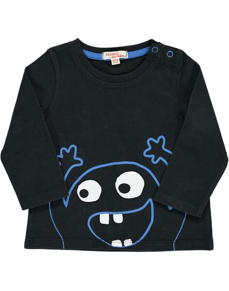 Tee-shirt manches longues fantaisie bébé garçon DUJOTEE1 / 18WG1032TML090