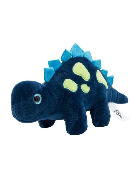 Peluche dinosaure stégosaure bleu marine JDino bleu mari / 20T8GG13PE2099