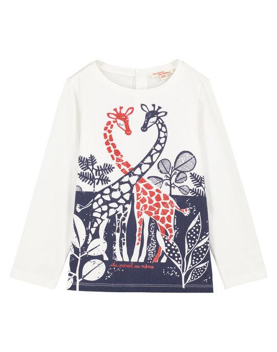 tee shirt manches longues imprimé GATRITEE1 / 19W901J1TML001