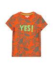 Tee-shirt fantaisie garçon FOYETI1 / 19S902M2TMCF519