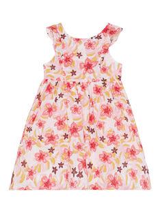 Robe sans manche à imprimé fleurie JADUROB2 / 20S901O5ROB001