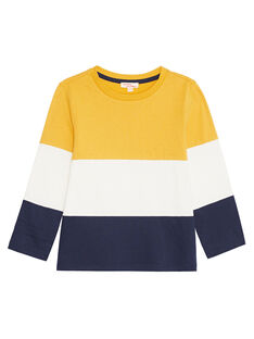 Tee shirt color block enfant garçon KOJOTIDEC2 / 20W9023DD32106