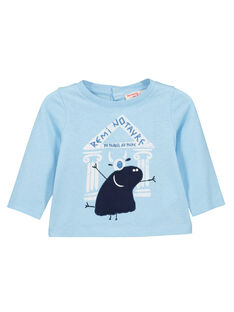 Tee-shirt manches longues bébé garçon FUNETEE1 / 19SG10B1TML020