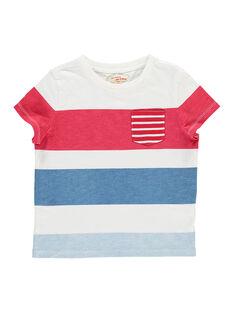 Tee-shirt manches courtes garçon FOTOTI1 / 19S902L1TMC000