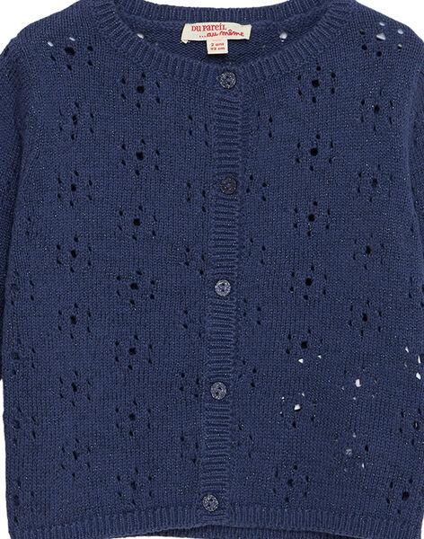 Cardigan Bleu JATROCAR1 / 20S901F2CARC233