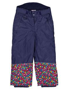 Pantalon de Ski Bleu marine GASKIPANT / 19W901W1PTS070