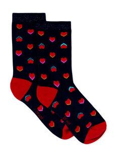Paire de chaussettes enfant fille KYALUCHO / 20WI01P1SOQC205
