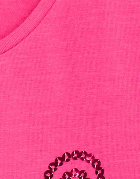 T-shirt manches longues, tête de léopard en sequin  KAJOTEE1 / 20W9013AD32D320