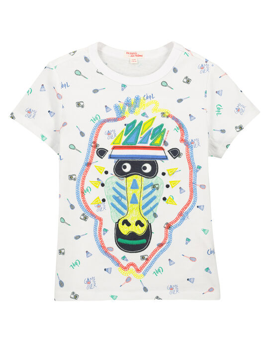 Tee-shirt fantaisie garçon FOCATI5 / 19S902D4TMC000