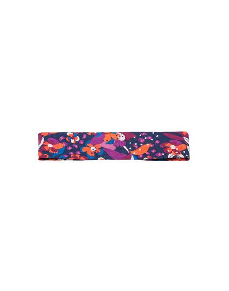 Bandeau imprimé fleuri coloré bébé fille MYIPABAN / 21WI09H1BAND319