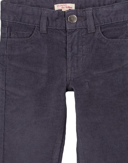 Pantalon En velours Gris Regular GOJOPAVEL2 / 19W90231D2BJ912