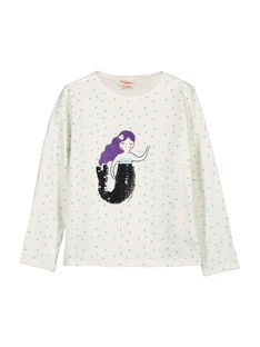 Tee-shirt manches longues fille FANETEE1 / 19S901B1TML000