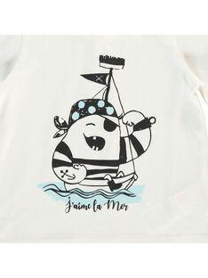 Tee-shirt manches courtes bébé garçon CUJOTI4 / 18SG10R4TMC001