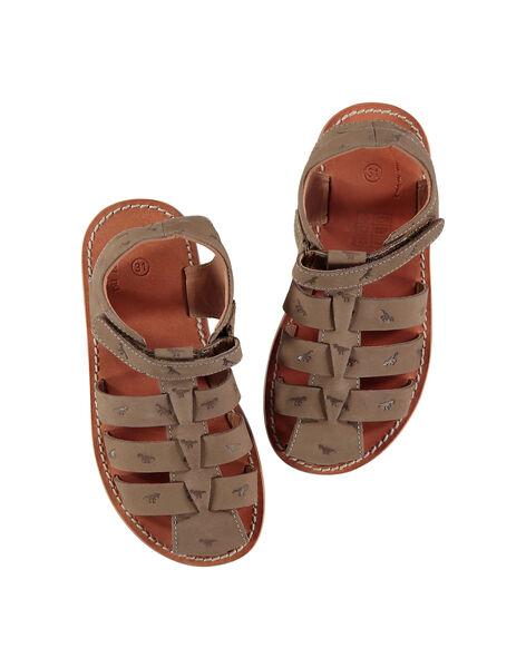 Sandale ville en cuir garçon FGSANDINO2 / 19SK36C2D0E803