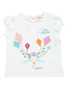Tee-shirt manches courtes bébé fille CIMATI / 18SG09U1TMC000