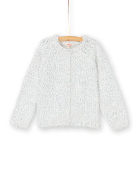 Cardigan manches longes en maille plume KABOCAR2 / 20W901N2CAR001