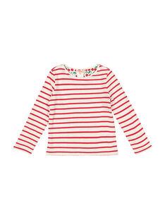 Tee-shirt réversible fille FACOTEE1 / 19S90181TML099