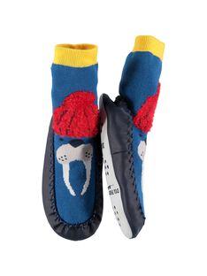 Chausson-chaussette garçon DGCCPHOQ / 18WK36W3D08C218