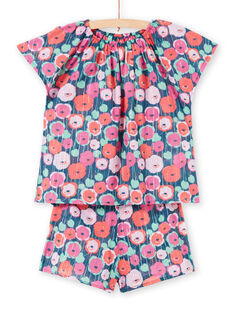 Pyjama Bleu marine LEFAPYJMIS / 21SH11C6PYJ716