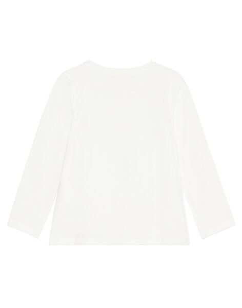 T-shirt manches longues, girafe en sequins  KAJOYTEE3 / 20W90151D32001