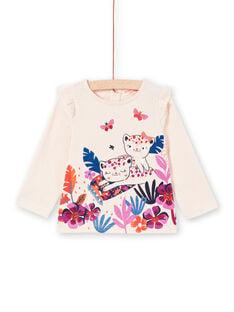 Tee Shirt Manches Longues Rose MIPATEE1 / 21WG09H4TMLD319