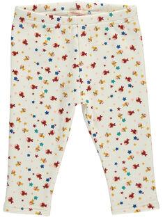 Pantalon en molleton bébé fille DINAUPAN2 / 18WG09G2PAN099