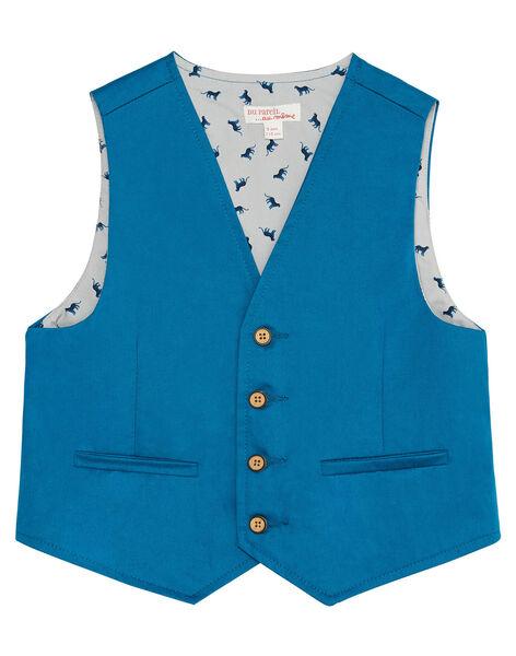 Gilet de costume bleu clair garçon JOJAGIL / 20S902B1GSMC235