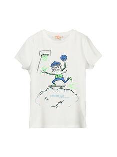 Tee-shirt fantaisie manches courtes garçon FONETI3 / 19S902B3TMC000