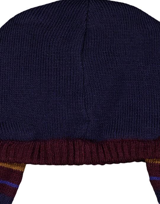 Bonnet Bleu marine GYUVIOBON / 19WI10R1BON713