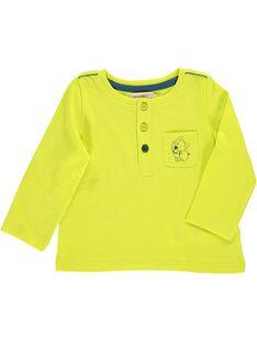 Tee-shirt manches longues bébé garçon CUJOTUN2B / 18SG10R7TML117
