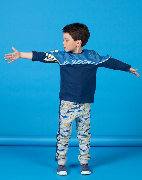 Tee Shirt Manches Longues Bleu marine LONAUTEE2 / 21S902P1TML070