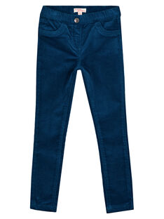 JEGGING VELOURS STRETCH GAJOVEJEG1 / 19W90144D2B070