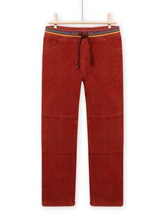 Pantalon Marron MOSAUPAN2 / 21W902P2PAN809