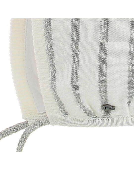 Bonnet de naissance bébé mixte CACMBONNET1 / 18SF42B1BON099